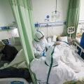 Koroonaviirus nõudis eile rekordarvu inimelusid, aga uute nakatunute arv stabiliseerub