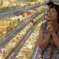 Ostlejad Novosibirskis supermarketis. Foto on illustreeriv.