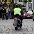 Tallinna kesklinnas on suvel korda hoidmas abipolitseinikud