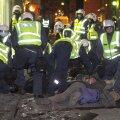 Siin pildil tegutseb Eesti politsei