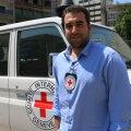 Rahvusvahelise abiorganisatsiooni Punane Rist Liibanoni haru avalike suhete juht Tarek Wheibi