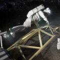 Asteroidi või selle tüki teisaldamine eeldab ka astronautide jõunumbreid.