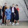 Vasakult: Triin, Andres, Katrin, Ago, Mari