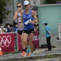 Tiidrek Nurme Sapporos olümpiamaratonil.