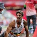 Olümpia kaugushüppekastist ratastoolil lahkunud belglane käis Soomes lõikusel
