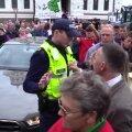 VIDEO: Põllumeeste meeleavaldusel osalenud norisid politseiga tüli
