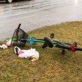 Liiklusõnnetus Kuressaares , Smuuli ja Rehe tänava ristmikul. Jalgrattur viidi haiglasse