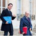Manuel Valls ja Bernard Cazeneuve