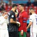 Cristiano Ronaldo kaks väravat aitasid Portugali viigini.