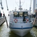 Abruka uue laeva Abro vettelaskmine