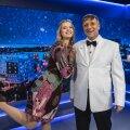 Teadmiste mängus lähevad vastamisi Kanal 2 saatejuhid Katrin Lust ja Peeter Võsa.