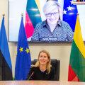Премьер-министр Кая Каллас обсудила с литовской коллегой борьбу с COVID-19