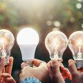 Led-lamp võib vastu pidada üle 10000 tunni.