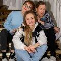 """""""Kättemaksukontori"""" esikolmik alates kevadhooajast: ees istub Amanda Hermiine Künnapas, tema taga Elina Reinold ja Kadri Rämmeld."""