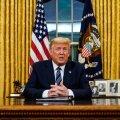 OHT JÕUDIS KOHALE: 11. märtsi telepöördumises teatas Donald Trump, et katkestab koroonaviiruse tõttu 30 päevaks kogu Euroopast USAsse tuleva lennuliikluse, ainsaks erandiks vaid Suurbritannia.