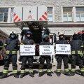 FOTOD ja VIDEO | Päästjate meeleavaldus: riigijuhid, kus on lubatud palgatõus?