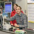 Нехватка рабочей силы: 170 сотрудников конторы Rimi вышли во время рождественских праздников на работу в магазины