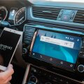 Android Auto uues Škoda Superbis.