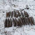 Mürsud, mis leitud tänavu jaanuaris Järvamaal (foto: Päästeamet)