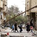 Paari nädala eest Süüria valitsusvägede poolt tagasivallutatud Palmyra linn