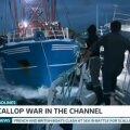 VIDEO | Tüli Briti ja Prantsuse kalurite vahel La Manche'i väinal läks tuliseks: loobiti kive ja rammiti laevu