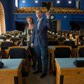 Tatjana ja Jüri Jaanson on alates esmaspäevast riigikogus töökaaslased.