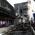 VIDEO | Prokuratuur: Kairo raudteejaama põlengu põhjustas pidurid peale panemata jätnud vedurijuht