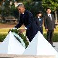 FOTOD ja VIDEO: Obama esimese USA presidendina Hiroshimas: surm langes taevast ja maailm oli muutunud