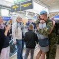 Liibanonis teeninud Eesti kaitseväelased jõudsid tagasi koju