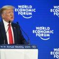 """Trump võttis Davosi majandusfoorumil sõna kliimamuutusest rääkivate """"hukatuseprohvetite"""" vastu"""