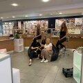 Ученические фирмы открыли в торговом центре Rocca al Mare поп-ап магазин