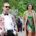 ФОТО | Ярко и по-летнему! Смотрите, кто из гостей президентского приема остановил свой выбор на цветочных узорах