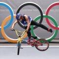 Daniel Dhers Tokyo olümpial.