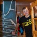 Aleksei Poltoranin Soomes Olose laagris.