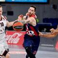 Luca Vildoza (keskel) läks Vitoria Baskoniast NBA-sse, aga ta ei pruugi New York Knicksi eest kunagi ühtegi ametlikku mängu pidada.