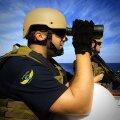 Uusi piraadikütte: Turvafirma Alphard Maritime Security rambo tööpostil. (Foto: Alphard Maritime Security)