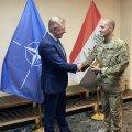 Министр обороны Лаанет: подразделение Кайтселийта обеспечивает безопасность Эстонии в зарубежной миссии в Ираке