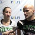 DELFI VIDEO: Andra Aho treener Kevin Renno: kaotuses said otsustavaks raske kaaluvõtmine ja korraldajate väike aps