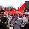 Так отмечали 1 мая в Нарве в канун муниципальных выборов – в 2009 году.