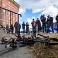 VIDEO | Esimene postidrooni katsetus Venemaal lõppes sööstuga vastu majaseina