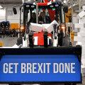 Boris Johnson traktori roolis