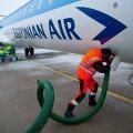 Esimene Bombardier saabus Tallinna lennujaama 25. jaanuaril 2011.