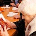 ФОТО: Ида-вируских ветеранов поздравили с Днем защитника Отечества