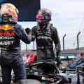Max Verstappen ja Lewis Hamilton