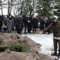 FOTOD | Kindralleitnant Johannes Kert sängitati mulda kaitseväe kalmistul