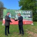 ФОТО | Подписан договор на проектирование в Мустамяэ нового стадиона