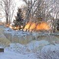 Keila juga talvisel pühapäeval