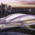 Zaha Hadidi kavandatud Tokyo olümpiastaadion