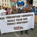 Põllumeeste meeleavaldus Tallinnas