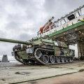ВИДЕО | В Эстонию прибыла военная техника боевой группы союзников